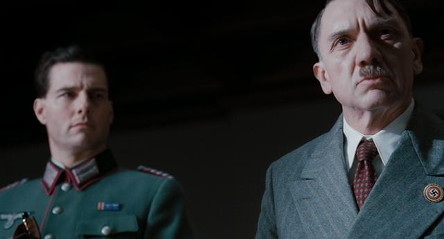 Stauffenberg (Tom Cruise) vs. Hitler (David Bember)