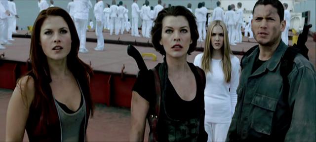 Neue Herausforderungen für Milla Jovovich, Ali Larter, Spencer Locke und Wentworth Miller