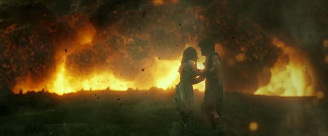 Kit Harington und Emily Browning vor der Katastrophe
