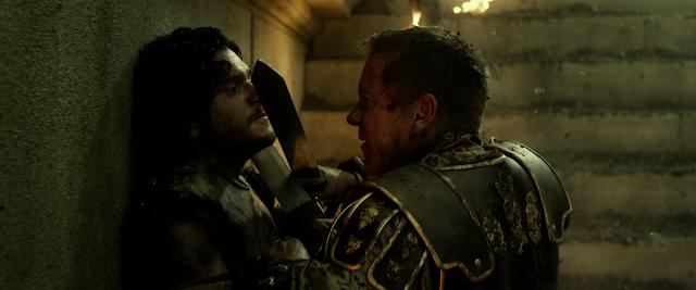 Senator Corvus kämpft gegen Milo